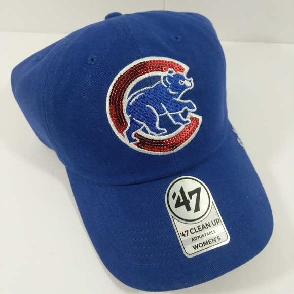 newest collection 3c215 9476c Fourty Seven Accessories - Chicago Cubs  47 Clean Up Women s Blue Hat